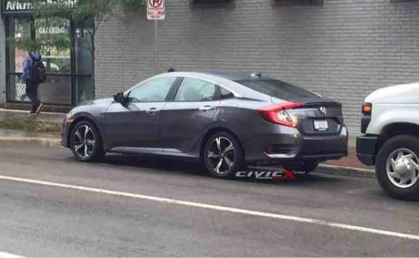 All New 2016 Civic