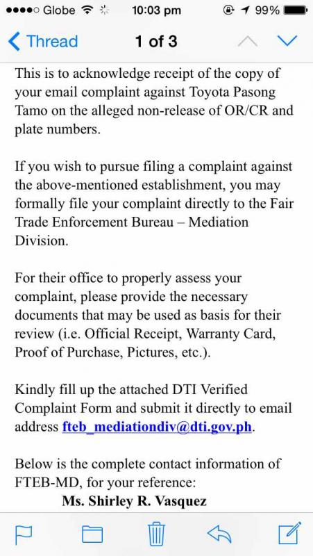 How To File A Complaint With The Dti Against The Dealer